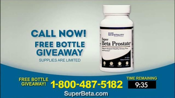Super Beta Prostate Free Bottle Giveaway TV Spot, 'Men Over Age 50' - Thumbnail 10