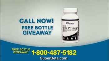 Super Beta Prostate Free Bottle Giveaway TV Spot, 'Men Over Age 50'