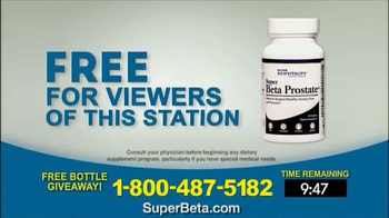 Super Beta Prostate Free Bottle Giveaway TV Spot, 'Men Over Age 50' - Thumbnail 8