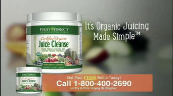 Purity Products Certified Organic Juice Cleanse TV Spot - Thumbnail 4