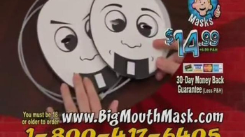 Big Mouth Mask TV Spot