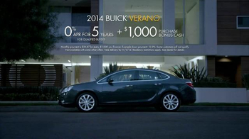 Buick Model Year Closeout TV Spot, 'Experience the New Buick Verano' - Thumbnail 10