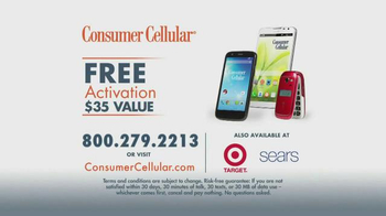Consumer Cellular TV Spot, 'Getting it Right with Connie and Jack: Plans $10+ a Month' - Thumbnail 6