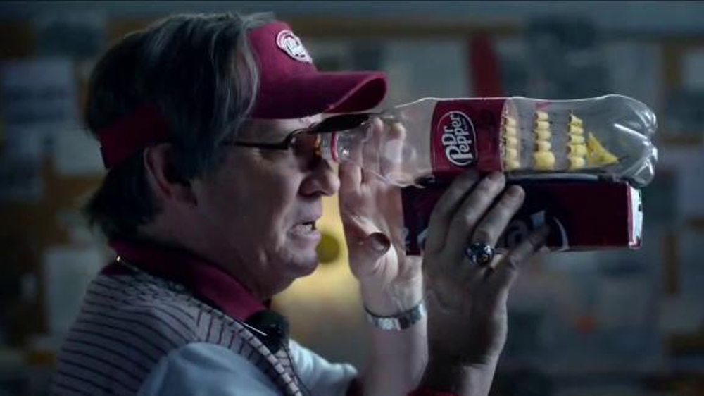Dr Pepper TV Commercial, 'College Football: One Man Selection Committee'