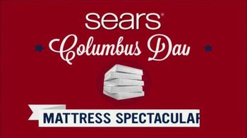 Sears Columbus Day Mattress Spectacular TV Spot, 'Find Your Sleep Solution'
