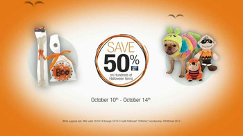PetSmart TV Spot, 'Halloween Treat Your Pet Sale' - Thumbnail 7