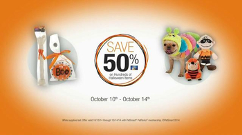 PetSmart TV Spot, 'Halloween Treat Your Pet Sale' - Thumbnail 8