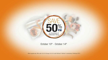 PetSmart TV Spot, 'Halloween Treat Your Pet Sale' - Thumbnail 9