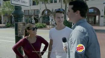 Burger King Chicken Nuggets TV Spot, 'That's So Wrong' - Thumbnail 4