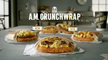 Taco Bell A.M. Crunchwrap TV Spot, 'Keycard' - Thumbnail 10