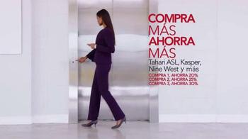 Macy's Gran Venta de Trajes TV Spot, 'Compra más ahora más' [Spanish] - Thumbnail 3
