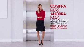 Macy's Gran Venta de Trajes TV Spot, 'Compra más ahora más' [Spanish] - Thumbnail 4