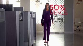 Macy's Gran Venta de Trajes TV Spot, 'Compra más ahora más' [Spanish] - Thumbnail 6