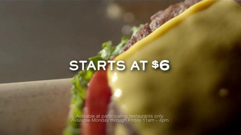 Chili's Lunch Double Burger TV Spot, 'New Lunch Double Burger' - Thumbnail 8