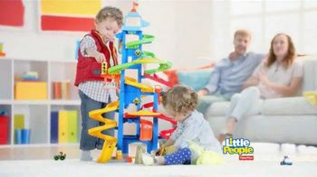 Fisher Price Little People City Skyway TV Spot, 'Boy's Drive with Dad'