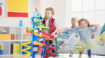 Fisher Price Little People City Skyway TV Spot, 'Boy's Drive with Dad' - Thumbnail 10