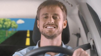 Fisher Price Little People City Skyway TV Spot, 'Boy's Drive with Dad' - Thumbnail 3