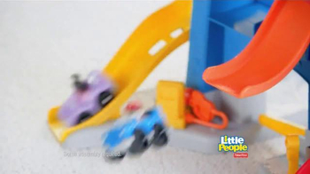 Fisher Price Little People City Skyway TV Spot, 'Boy's Drive with Dad' - Thumbnail 5