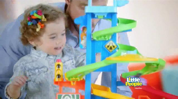 Fisher Price Little People City Skyway TV Spot, 'Boy's Drive with Dad' - Thumbnail 6