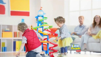 Fisher Price Little People City Skyway TV Spot, 'Boy's Drive with Dad' - Thumbnail 8