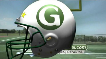 The General TV Spot, 'Football' - Thumbnail 3