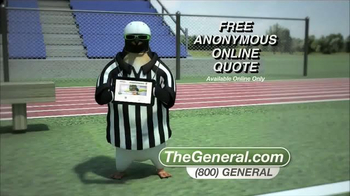 The General TV Spot, 'Football' - Thumbnail 4