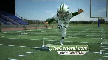 The General TV Spot, 'Football' - Thumbnail 8
