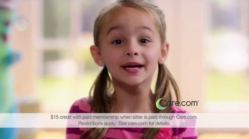 Care.com TV Spot, 'Freetime' - 548 commercial airings