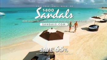 Sandals Resorts TV Spot, 'A Break, An Escape' - Thumbnail 6