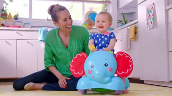 Fisher Price Bounce, Stride & Ride Elephant TV Spot, 'Baby to Play' - 3974 commercial airings