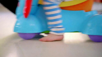 Fisher Price Bounce, Stride & Ride Elephant TV Spot, 'Baby to Play' - Thumbnail 8
