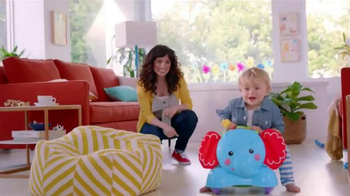 Fisher Price Bounce, Stride & Ride Elephant TV Spot, 'Baby to Play' - Thumbnail 9