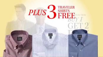 JoS. A. Bank TV Spot, 'October: BOG2 Suits, Sportcoats + 3 Traveler Shirts' - Thumbnail 4