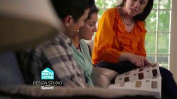 Bassett Custom Furniture Sale TV Spot, 'HGTV Home Design Studio' - Thumbnail 1