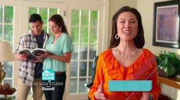 Bassett Custom Furniture Sale TV Spot, 'HGTV Home Design Studio' - Thumbnail 4
