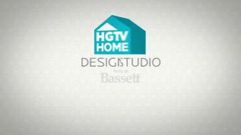 Bassett Custom Furniture Sale TV Spot, 'HGTV Home Design Studio' - Thumbnail 9