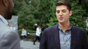 Match.com TV Spot, 'Match on the Street: Two Different Paths' - Thumbnail 1
