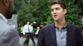 Match.com TV Spot, 'Match on the Street: Two Different Paths' - Thumbnail 2