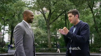 Match.com TV Spot, 'Match on the Street: Two Different Paths' - Thumbnail 5