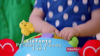 Fisher Price Bounce, Stride & Ride Elephant TV Spot, 'Pasos' [Spanish] - Thumbnail 3