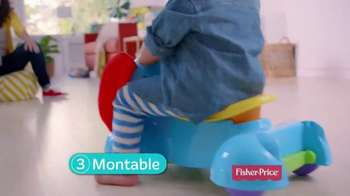 Fisher Price Bounce, Stride & Ride Elephant TV Spot, 'Pasos' [Spanish] - Thumbnail 6