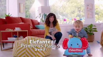 Fisher Price Bounce, Stride & Ride Elephant TV Spot, 'Pasos' [Spanish] - Thumbnail 8