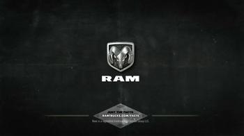 2014 Ram 3500 TV Spot, 'Just the Facts: Job Site' - Thumbnail 7