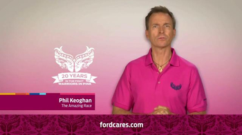 Ford Warriors in Pink TV Spot, 'Together We Can Win This' Ft. Phil Keoghan - Thumbnail 2