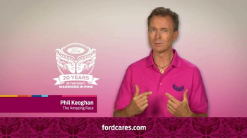 Ford Warriors in Pink TV Spot, 'Together We Can Win This' Ft. Phil Keoghan - 2 commercial airings