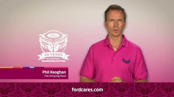 Ford Warriors in Pink TV Spot, 'Together We Can Win This' Ft. Phil Keoghan - Thumbnail 5