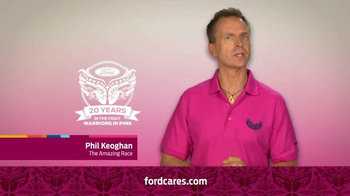 Ford Warriors in Pink TV Spot, 'Together We Can Win This' Ft. Phil Keoghan - Thumbnail 6