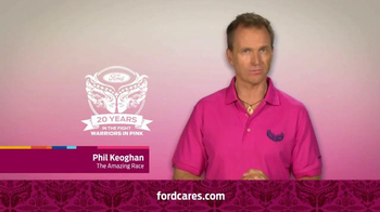 Ford Warriors in Pink TV Spot, 'Together We Can Win This' Ft. Phil Keoghan - Thumbnail 7