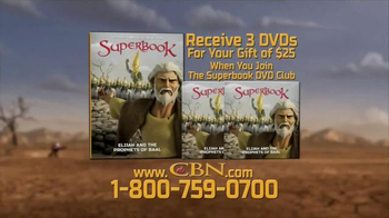 CBN Superbook: Elijah and the Prophets of Baal TV Spot, 'What to Put First' - Thumbnail 5