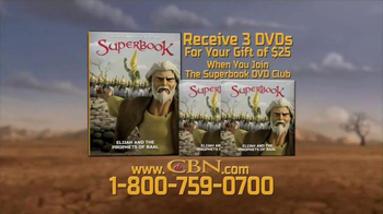 CBN Superbook: Elijah and the Prophets of Baal TV Spot, 'What to Put First' - Thumbnail 6